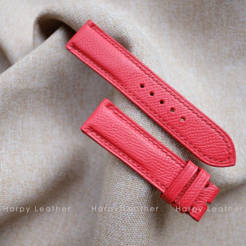 red watch strap