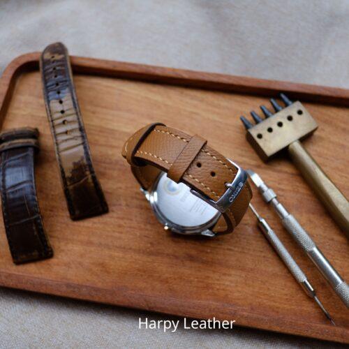 seiko leather watch straps