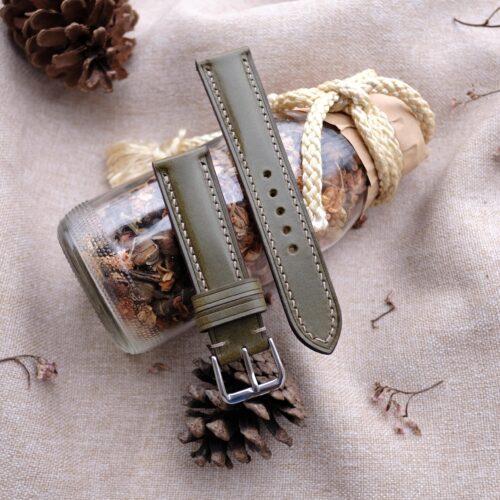 green-watch-strap